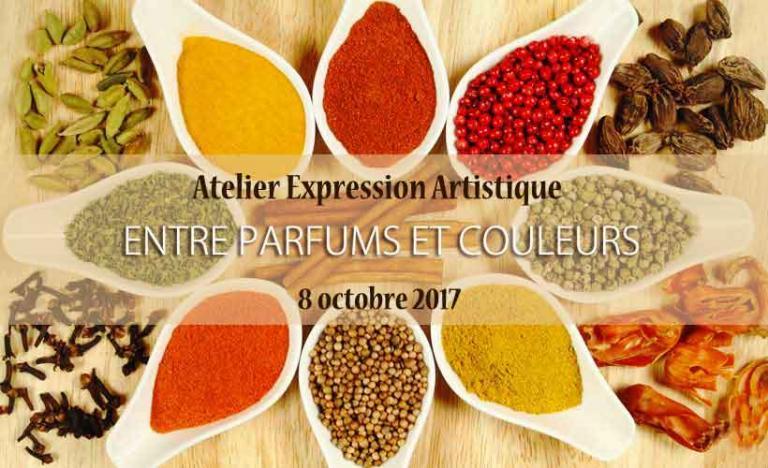 """Atelier """"Entre parfums et couleurs"""""""